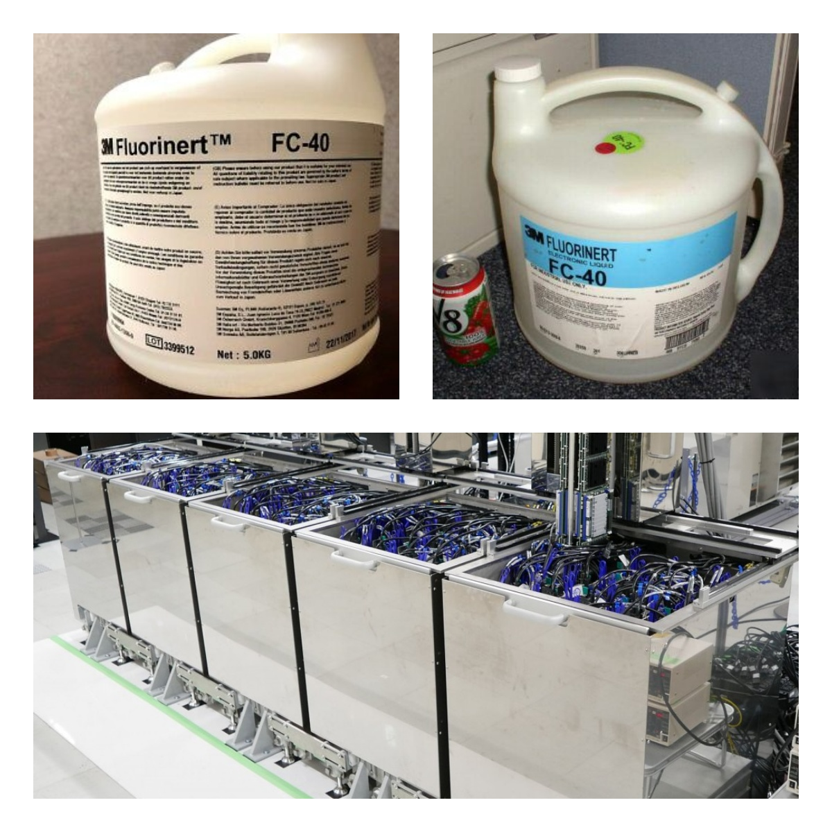Novec and Coolant liquids comparison - why we stick to our